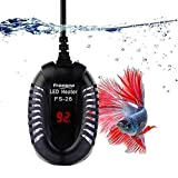 FREESEA Small Aquarium Betta Submersible Heater with LED Temperature Display (50-300Watt)