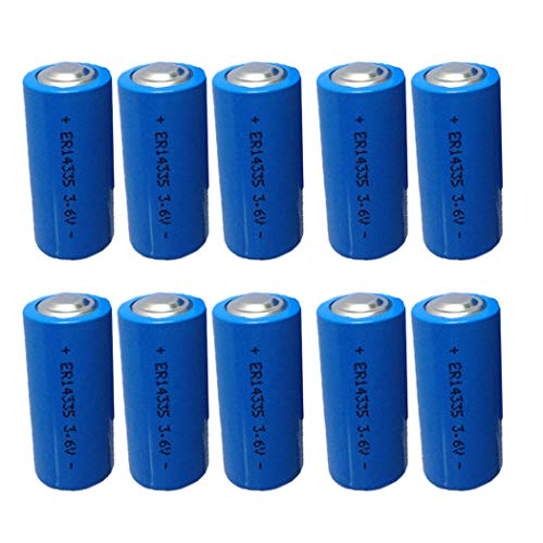 - ER14335 2/3AA 3.6V 1650mAh Primary Lithium Battery 10-Pack