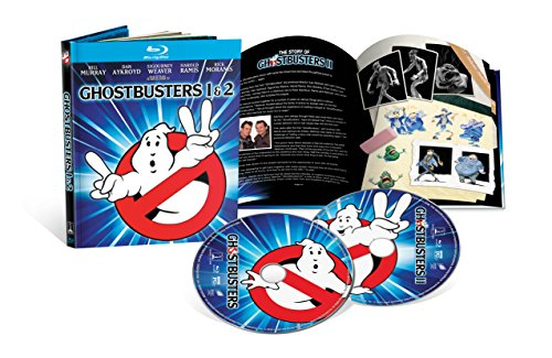 Ghostbusters / Ghostbusters II (4K-Mastered + Included Digibook) [Blu-ray]