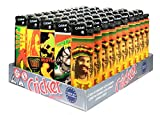 Disposable Cricket Lighters Jamaica (Original) - Tray of 50