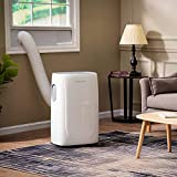 Emerson Quiet Kool Smart Portable Remote, Wi-Fi, and Voice Control for Rooms up to 350-Sq. Ft, EAPC10RSD1 Air Conditioner, 10000 BTU with WiFi, White