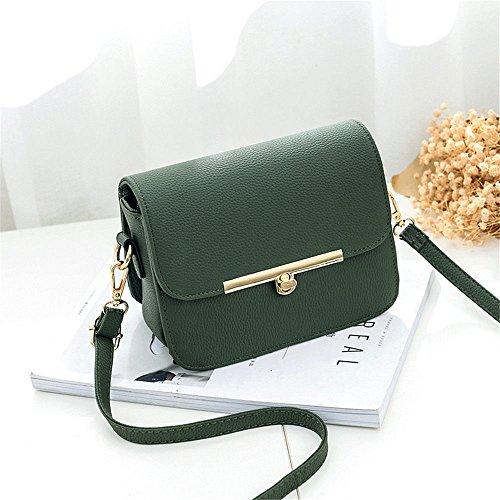 Green Satchel 19X15X11Cm Bolso Único Arroz Mini SJMMBB Bolsa Blanco Mini OPSnxpvz