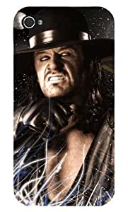 WWE Wrestling Undertaker cas adapte iphone 4 et 4s couverture coque rigide de protection (13) case pour la apple i phone