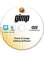 GIMP Photo Editor 2021 Premium Professional Image Editing Software CD Compatible with Windows 10 8.1 8 7 Vista XP 32 & 64-Bit PC, macOS, Mac OS X & Linux – Lifetime License, No Monthly Subscription!