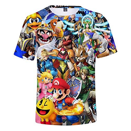 Super Smash Bros T-Shirt Men Women 6-XL