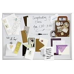 Quartet Magnetic Dry-Erase Board, 2 x 3 Feet, Aluminum Frame (MALUM2436)