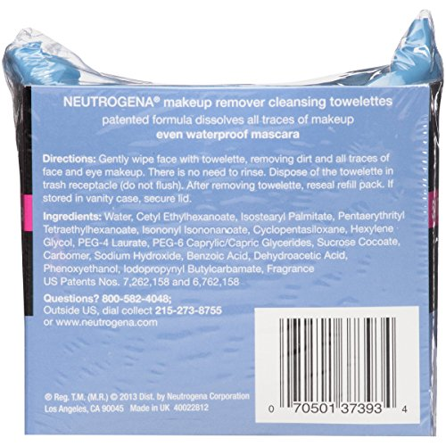 Neutrogena Makeup Removing Wipes, 25 Count, Twin Pack by Neutrogena (Image #3)