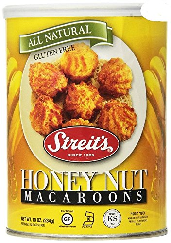 Streit's Macaroons Passover ~ 10 oz (Honey Nut)
