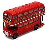 toylandbay London Bus Routemaster City Tourist Closed Top Diecast 1/76 Scale Diecast