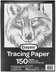 """Crayola Tracing Paper 8 1/2"""" X 11"""" Arts & Crafts"""