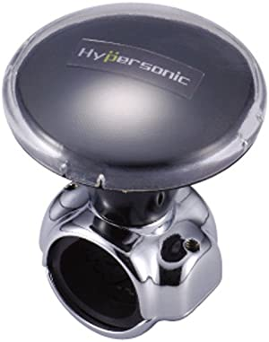 Hypersonic Car Power Handle Easy Steering Suicide Knob Black Spinner Steering Wheel Accessories for Car/Truck/Boat