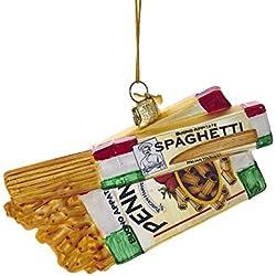 Kurt Adler Noble Gems Glass Pasta Boxes Ornament