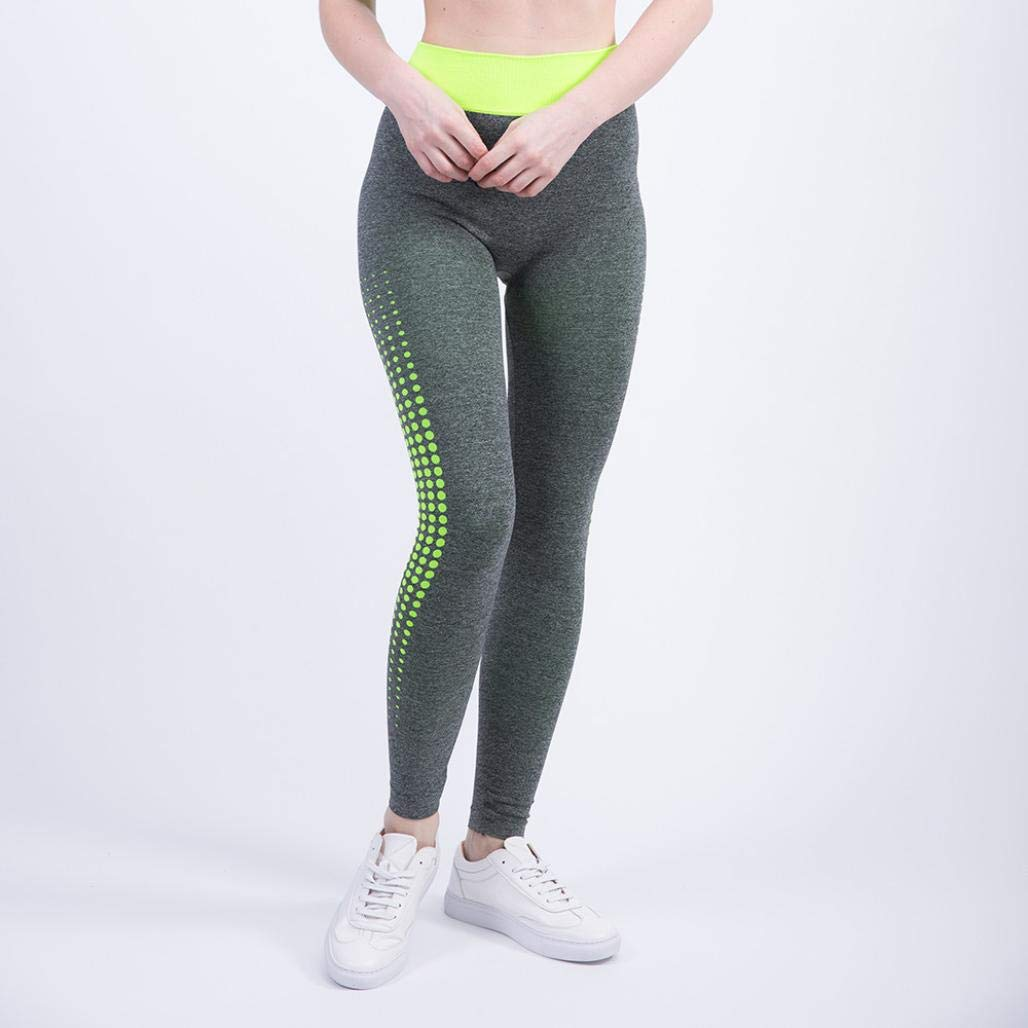 iTLOTL New Discount Women Yoga Athletic Trouser High Waist Gym Patchwork Sports Running Fitness Leggings Pants