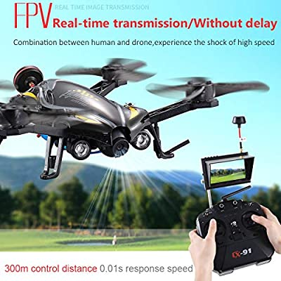 XZZ Drone, 5.8G FPV RC Quadcopter Racing Remote Drone with 720P HD Camera /3D flip/Headless Mode/one Button Back/Toy Gift