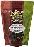 English Tea Store Loose Leaf, Vanilla Cream Natrually Flavored Black Tea Pouches, 4 Ounce