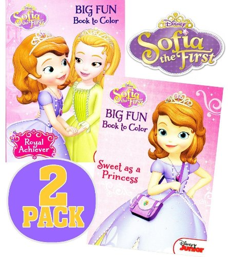 Disney Sofia the First Coloring and Activity Book