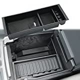 ford usb - Oceson Center Console Armrest Insert Organizer ABS Tray Pallet Storage Box Container With USB Hole for Ford F150 2015 2016 2017 2018 …