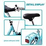 COEWSKE-Kids-Bike-Steel-Frame-Children-Bicycle-14-16-Inch-with-Training-Wheel