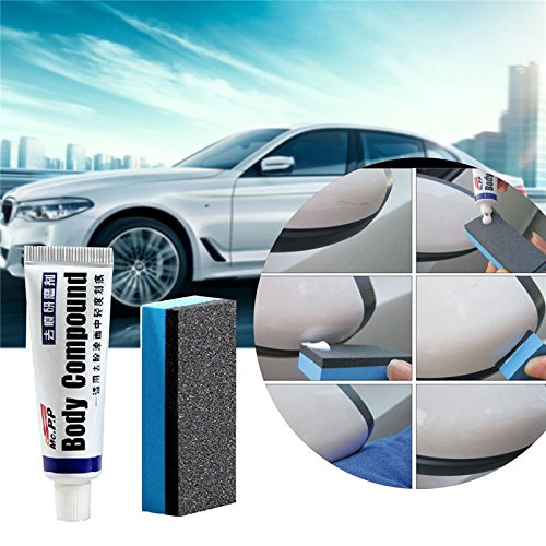 Car Paint Scratch Repair Wax Abrasives Car Polishing Body Compound Wax Paint Care Scratching Repair Kit For Auto Styling Accessories (Paint Repair Car)