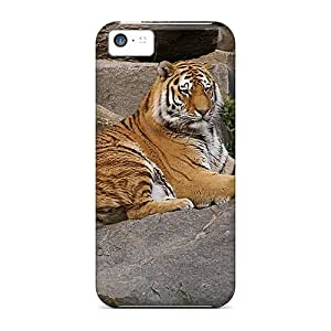 High-end Case Cover Protector For Iphone 5c(panthera Tigris)