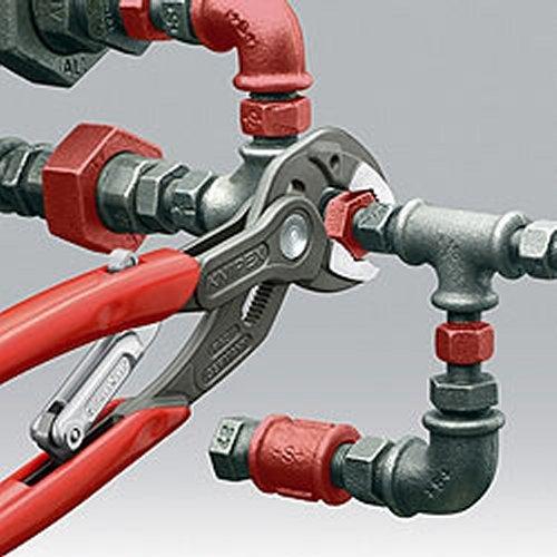 320 mm Knipex 85 01 250 SB Wasserpumpenzange SmartGrip L/änge