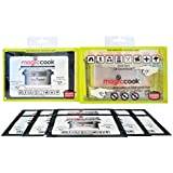 Magic Cook Triple Layers Lunch Box with 11 Refill Heat Packs of (50g)