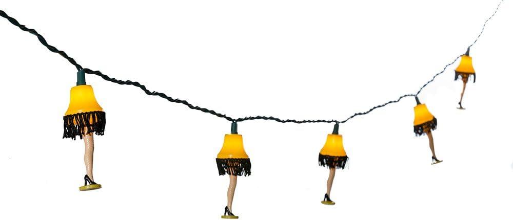 A Christmas Story Kurt Adler UL 10-Lights Leg Lamp Light Set (CS9141)
