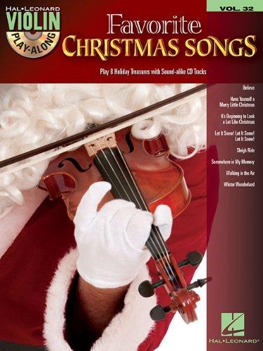 Favorite Christmas Songs: Violin Play-Along Volume 32 (Hal Leonard Violin Play-along)