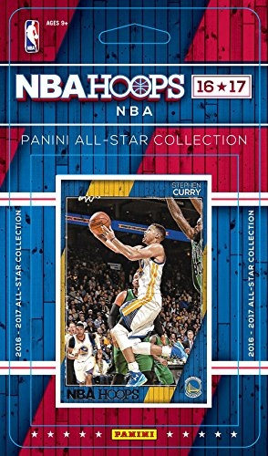 2016 2017 Hoops NBA All Stars Collection Special Edition Factory Sealed Basketball Set with Lebron James of the Cleveland Cavaliers and Stephen Curry of the Warriors Plus