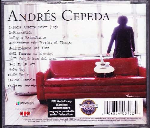 Andres Cepeda by Univision Music Grp