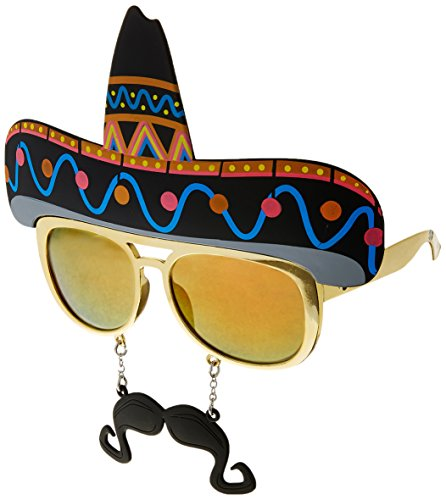 Sunstaches Sombrero Character - With Sunglasses Characters