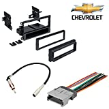 Chevrolet 2003-2006 Avalanche 1500 CAR Stereo CD Player Dash Install MOUNTING KIT Wire Harness Radio Antenna