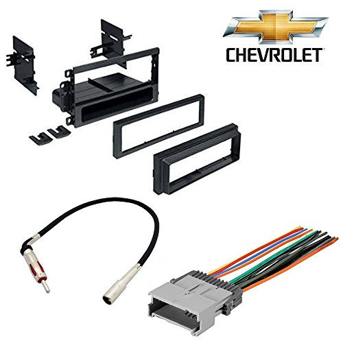 CHEVROLET 2003 - 2006 AVALANCHE 1500 CAR STEREO CD PLAYER DASH INSTALL MOUNTING KIT WIRE HARNESS RADIO ANTENNA