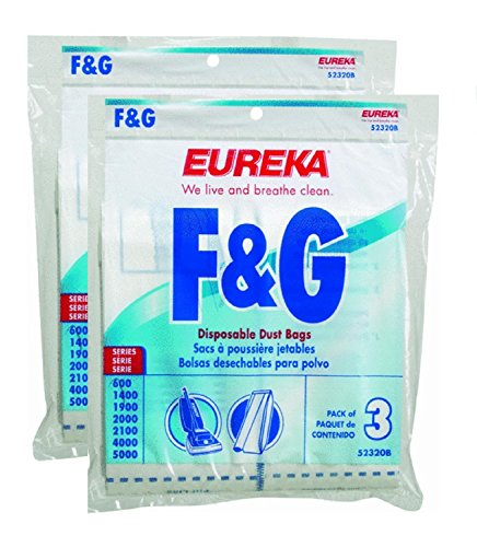 - Genuine Eureka F&G Disposable Dust Bag 52320C-6 6-