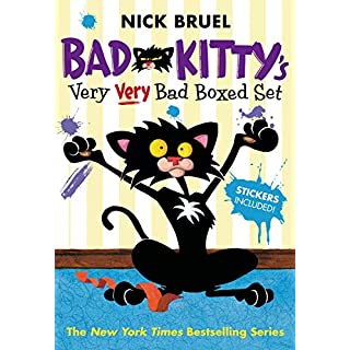 Bad Kitty's Very Very Bad Boxed Set (#2): Bad Kitty Meets the Baby, Bad Kitty for President, and Bad Kitty School Days