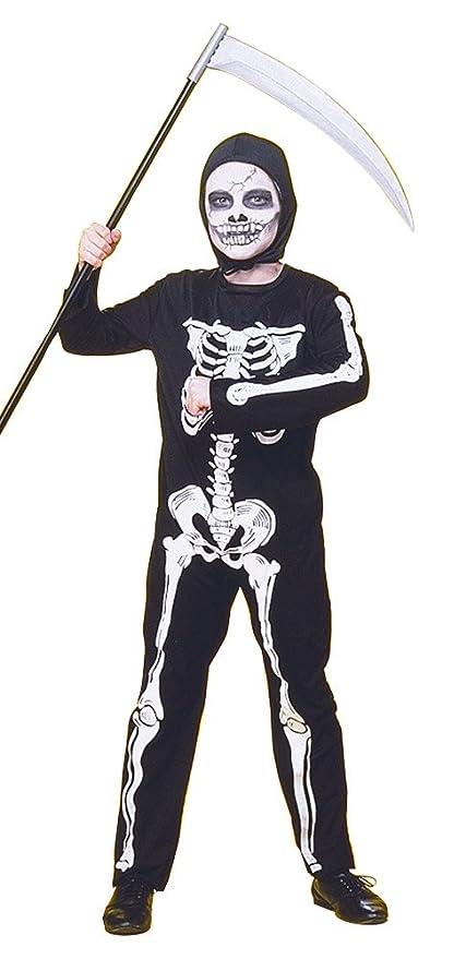 Rubies - Disfraz infantil de esqueleto, 5-7 años (Rubies 12507-M)