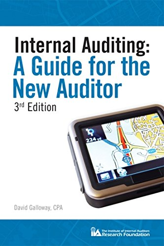 Internal Auditing: A Guide for the New Auditor