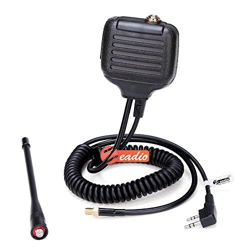 Zeadio ZP-AMC075 Handheld Speaker Microphone with UHF Antenn