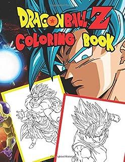 Amazon Com Dragon Ball Z Coloring Art Book Japanese Nurie Kids