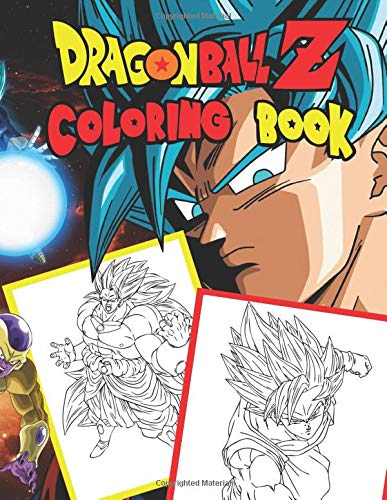 Pdf Crafts Dragon Ball Z: Jumbo DBS Coloring Book: 100 High Quality Pages (Volume 4) (DBZ Coloring Books)