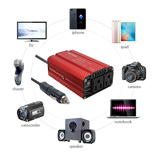 Brightup car power inverter 400w auto inverter dc 12 volt to 110v car power inverter 400w auto inverter dc 12 volt to 110v dc to ac converter for publicscrutiny Image collections