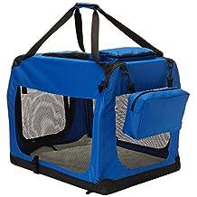 Go Pet Club AC28 28-Inch Soft Portable Pet Carrier, Blue