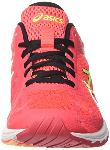 Asics Gel-Ds Racer 11, Chaussures de Running Femme Rose (Diva Pink/safety Yellow/black)