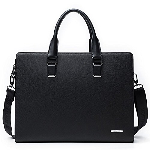 BOSTANTEN Leather Briefcase Shoulder Business
