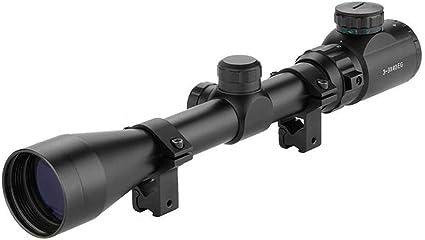 Jäger Zielfernrohr für Luftgewehr Armbrust Rifle Scope 11mm Montagen 3~9x40EG