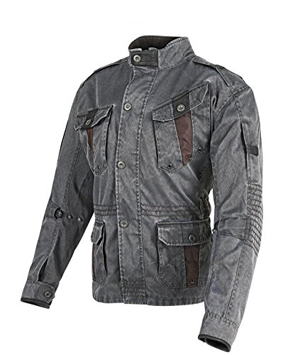 Speed and Strength Fame And Fortune Mens Textile Sports Bike Racing Motorcycle Jacket - Vintage Black