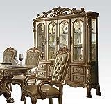 ACME Dresden Gold Patina Hutch Buffet