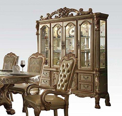 Acme Furniture ACME Dresden Gold Patina Hutch ()