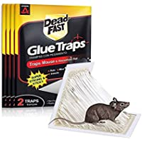 AWESMR Mouse Traps, Mouse Glue Traps,Rat Traps,12 Pack,Mouse Trap Sticky Boards,Mouse/Rat/Mice Traps for House,Mouse…