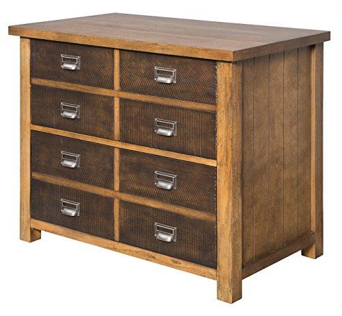 Hickory File Cabinet Finish - 1
